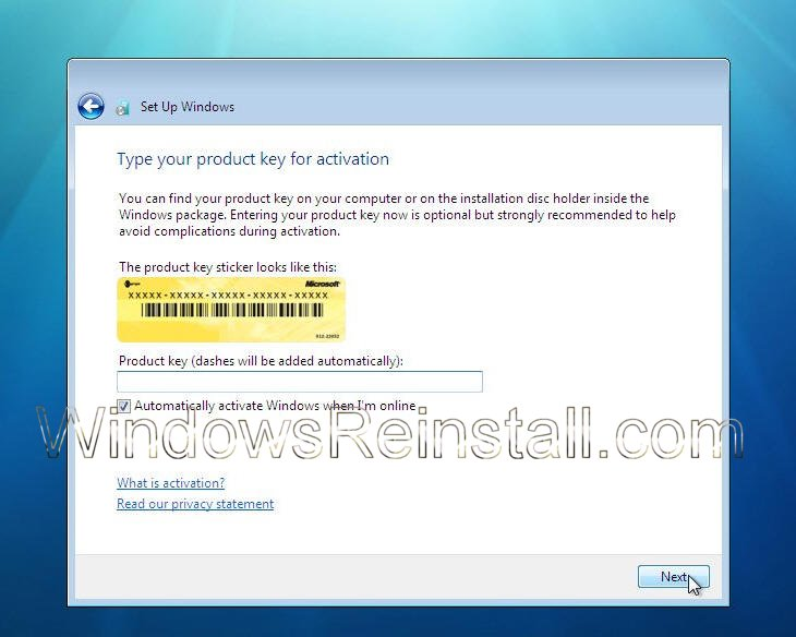 key windows 7 ultimate