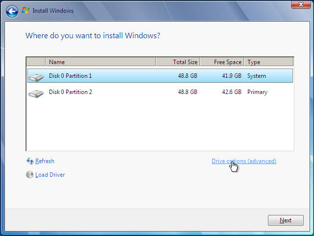 Windows 7 Ultimate reinstall with format